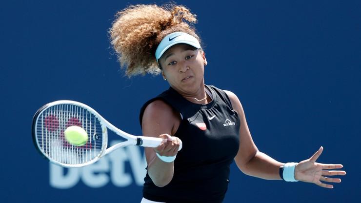 WTA w Miami: Koniec serii zwycięstw Naomi Osaki