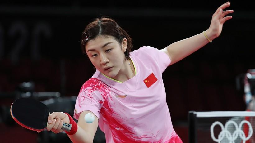 Tokio 2020: Chen Meng ze złotym medalem w tenisie stołowym