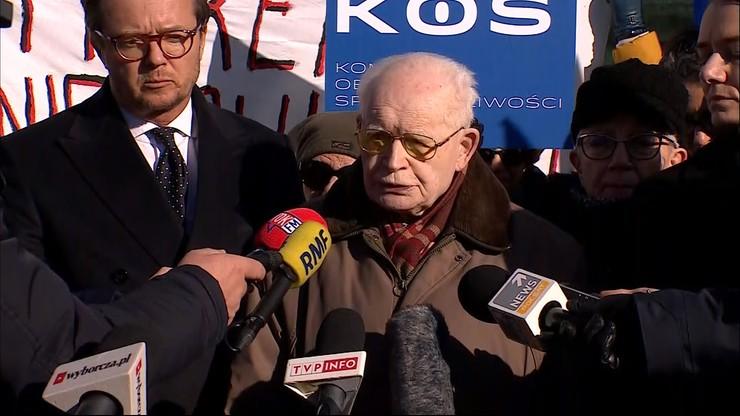 Prof. Strzembosz: nowelizacja ustaw sądowych jest daniem w twarz TSUE
