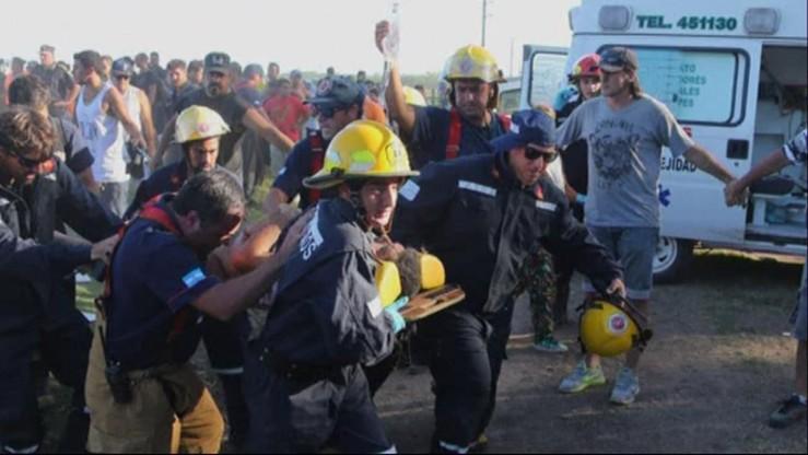 Wypadek na Dakarze. Zawodniczka wjechała w tłum kibiców. Kilkunastu jest rannych