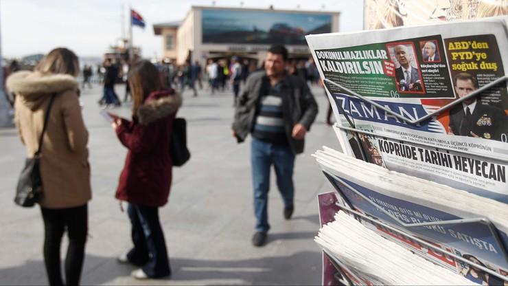 """Francja: przejęcie gazety """"Zaman"""" przez turecki rząd - """"nie do przyjęcia"""""""