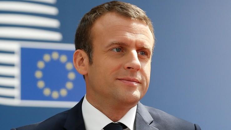 Na szczycie UE Macron za Unią, która koryguje globalizację