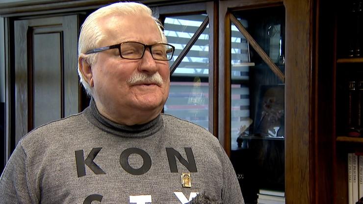 """Wałęsa poszedł do kościoła mimo epidemii. """"Mi jest czas odejść, chcę na inną wysokość iść"""""""