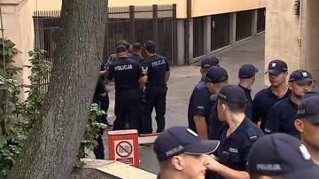 Szczerba ujawnił dane policjanta, on złoży zawiadomienie o popełnieniu przestępstwa