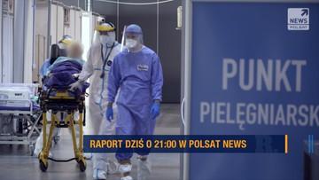 """Medycy na skaju wytrzymałości - """"Raport"""" dziś o g. 21"""