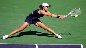 WTA w Indian Wells: Świątek przegrała z Ostapenko