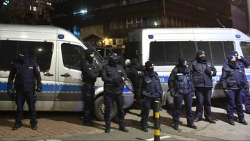 """Policja o manifestujących. """"Chcieli protestować, a nie walczyć"""""""