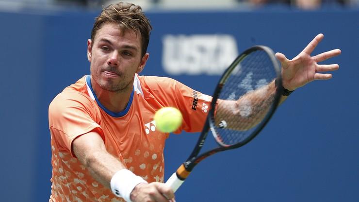 US Open: Wawrinka ponownie pokonał Dimitrowa w 1. rundzie