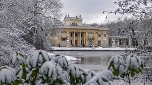 17.01.2021 00:00 Bajeczna zima w Łazienkach Królewskich (4K)