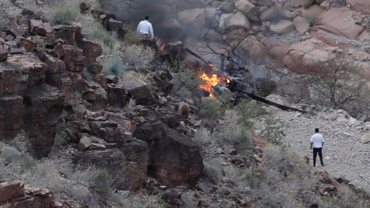 Katastrofa helikoptera w Wielkim Kanionie. Są ofiary śmiertelne i ranni