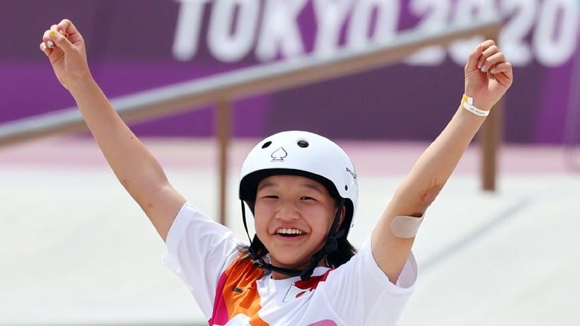Tokio 2020: 13-letnia Momiji Nishiya olimpijskie złoto będzie świętować japońskim barbecue