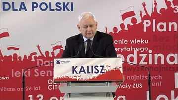 """""""Nasi konkurenci postawili na lewactwo"""". Kaczyński o """"przebierańcach"""" i """"wielkim ataku na wolność"""""""