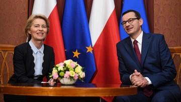 """Szefowa Komisji Europejskiej w Polsce. """"Są trudne tematy jak kwestie migracyjne i praworządności"""""""