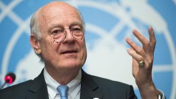 """ONZ: rozmowy pokojowe i rozejm w Syriii """"w wielkim niebezpieczeństwie"""""""