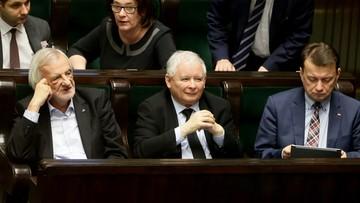 """Kaczyński: """"Lider opozycji powinien mieć status wicepremiera"""""""