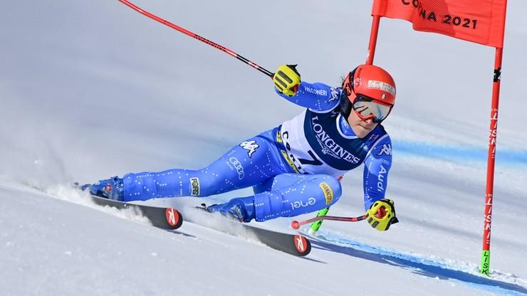 Alpejskie MŚ: Brignone liderką na półmetku kombinacji, Gąsienica-Daniel 23.
