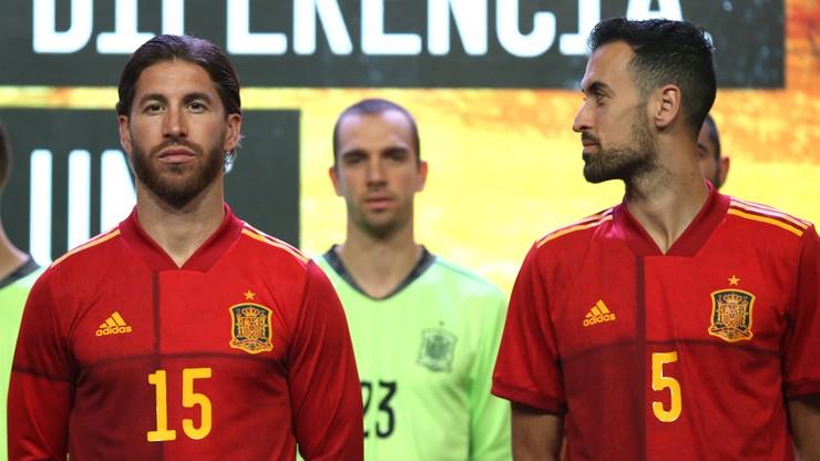 Euro 2020: Upolitycznione stroje reprezentacji Hiszpanii?
