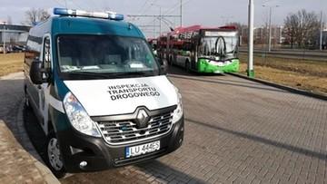 Skontrolowano 71 autobusów miejskich w Lublinie. 6 nie nadawało się do jazdy