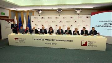 Oficjalne wyniki wyborów do PE. Mandaty zdobyły trzy komitety