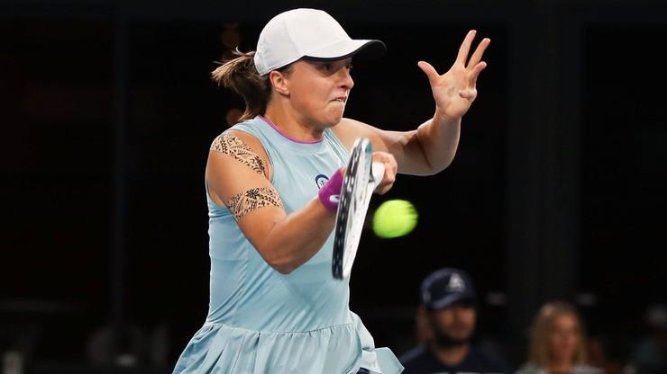 WTA w Adelajdzie: Iga Świątek rozbiła Maddison Inglis i awansowała do ćwierćfinału