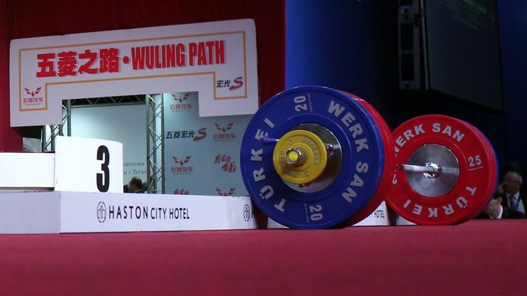 MŚ w ciężarach: Dwóch Chińczyków na podium w kategorii 67 kg