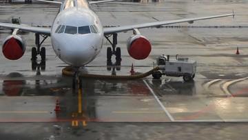 Pasażerowie ewakuowani z samolotu. Z jednego z kontenerów wydostały się tysiące pszczół [ZDJĘCIA]