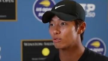 Niesłyszący Koreańczyk przeszedł do historii tenisa. Teraz zagra z Hubertem Hurkaczem