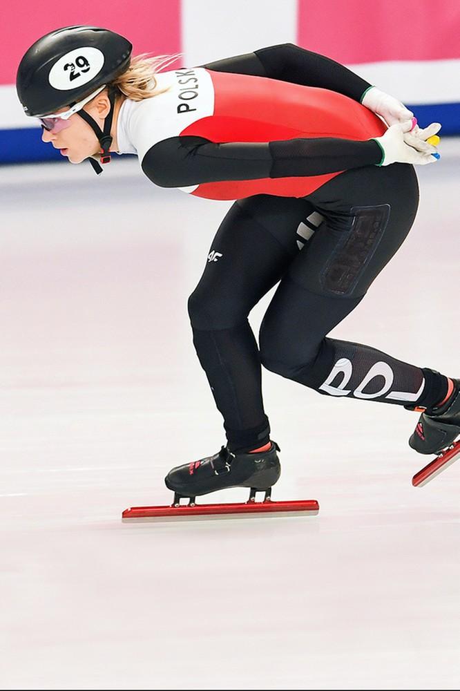 2021-01-22 Mistrzostwa Europy w short tracku w Polsat Sport Extra