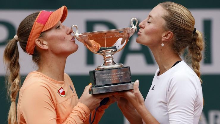 French Open: Babos i Mladenovic obroniły tytuł w deblu