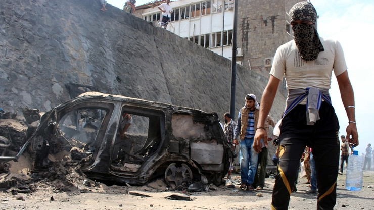Jemen: Gubernator Adenu zginął w zamachu. Państwo Islamskie bierze odpowiedzialność na siebie