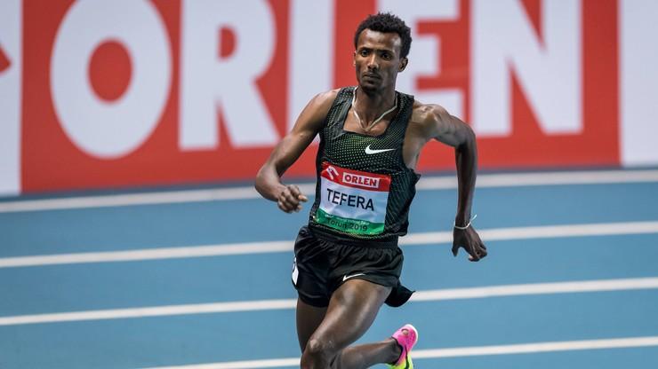 Rekord świata Tefery na 1500 m