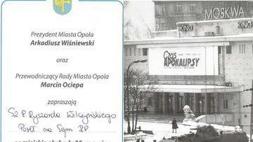 Opole rezygnuje z patronatu Jakiego i zapowiada przeprosiny dla Niedenthala
