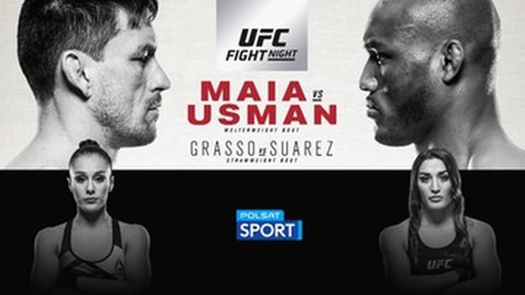 Gdzie i kiedy obejrzeć powtórkę gali UFC Fight Night: Maia - Usman?