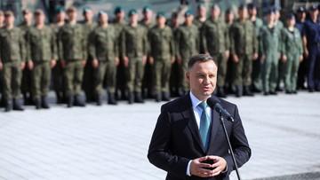 Prezydent: polskie firmy produkują wojskowe wyposażenie na światowym poziomie