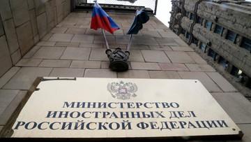 """Rosyjskie MSZ: zamach na Skripala to """"sfabrykowana awantura"""""""