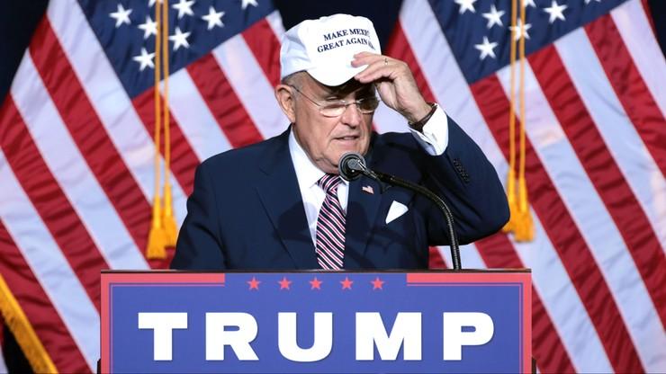 Giuliani będzie doradzał Trumpowi w sprawach cyberbezpieczeństwa