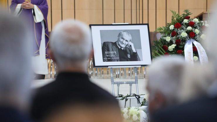 """Pogrzeb Henryka Wujca. """"Pozostał autorytetem dla wszystkich"""""""