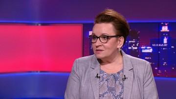 Zalewska: rząd nie zdecydował o podwyżkach pod presją. My je zaplanowaliśmy