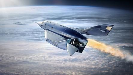 Oto pierwszy lot na granicę kosmosu statku kosmicznego od Virgin Galactic [WIDEO]
