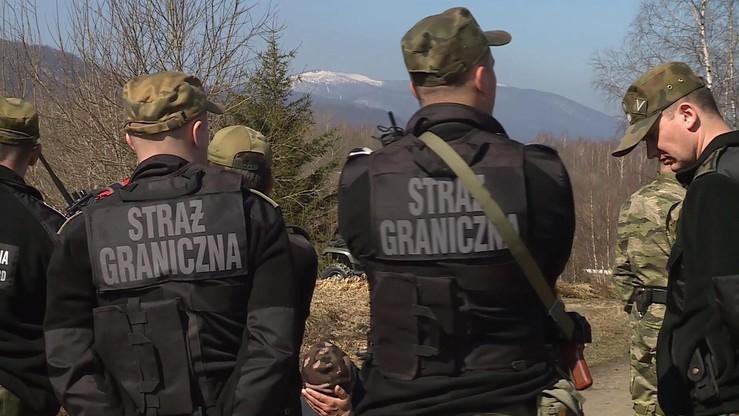 Straż Graniczna uratowała rodzinę nielegalnych imigrantów z Rosji