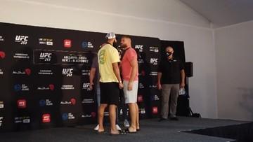 UFC 253: Błachowicz i Reyes na gorąco po ważeniu i face-offie