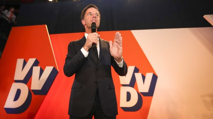 """Rutte: Holandia powiedziała """"stop"""" złemu rodzajowi populizmu"""