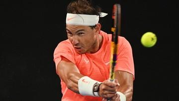 Australian Open: Łatwy awans Nadala do ćwierćfinału