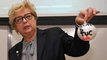 Gersdorf: adwokaci i sędziowie współdziałają w celu obrony konstytucji i praworządności