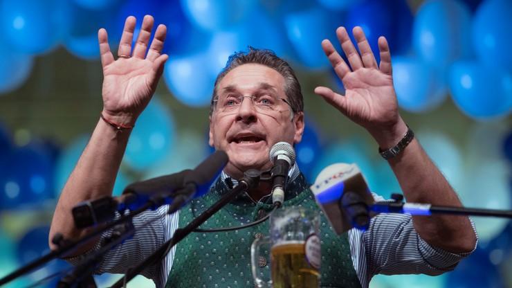 Nagrania wideo obciążają wicekanclerza Austrii. Strache: składam funkcje partyjne
