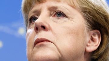 Rosną notowania kanclerz Merkel i jej ugrupowania
