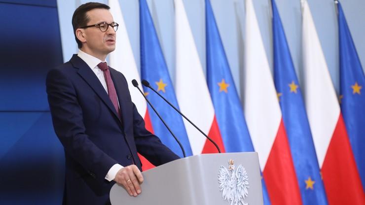 Morawiecki o sprawie Jakuba R.: mam pełne zaufanie do ministrów Kamińskiego i Wąsika