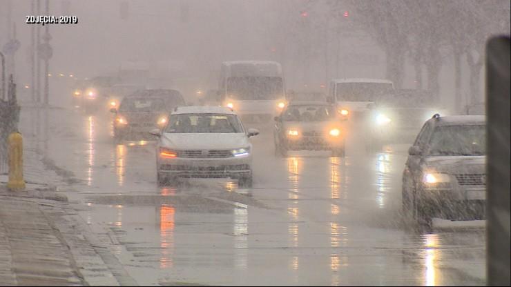 Burze śnieżne nad Polską. Styczniowy atak zimy