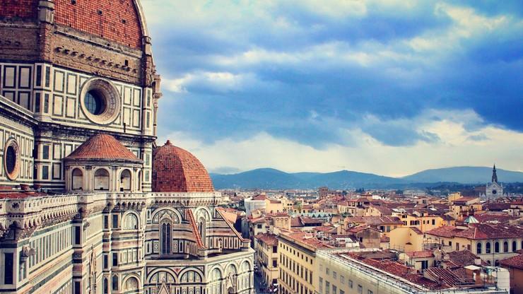 Romantyczna Florencja miastem singli
