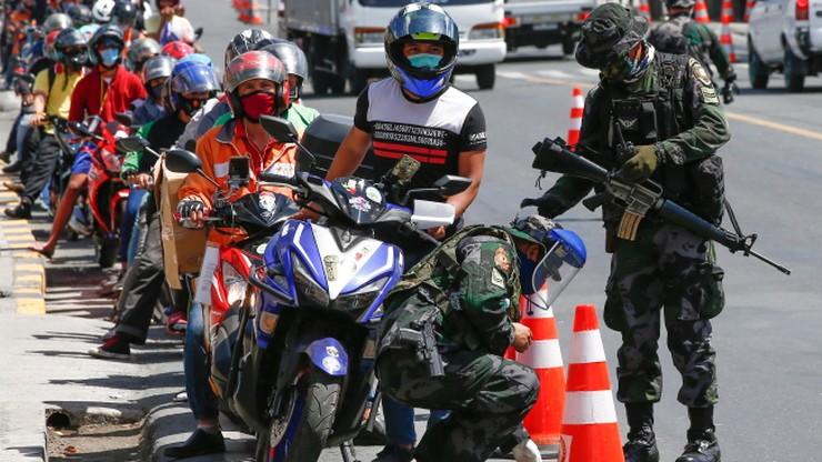 Prezydent Filipin rozkazał strzelać do osób łamiących kwarantannę